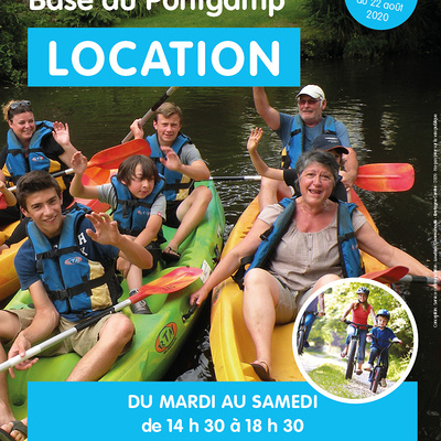 Base Sports Nature : Informations et horaires
